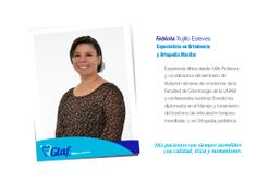 ¡Conoce a nuestros especialistas! Fabiola, Trujillo, Esteves, ortodonica, ortopedia maxilar, dentista, df, mujer, familia, niños.