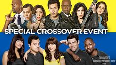 New Girl & Brooklyn Nine-Nine Crossover Event Promo #2 (Video)   New Girl & Brooklyn Nine-Nine Crossover Event Promo #2 (Video)  New Girl & Brooklyn Nine-Nine Spoilers:For one night only two favorite comedies collide. Don't miss the one-hour New Girl and Brooklyn Nine-Nine crossover event Tuesday October 11th on FOX!   Brooklyn Nine-Nine New Girl Preview Synopsis