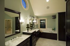 craftsman houses, home plans, color schemes, hous plan, contemporary houses, luxury houses, master bathrooms, master baths, house plans