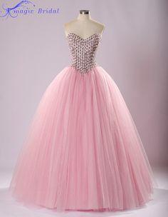 vestidos de quinceañera en rosado pastel - Buscar con Google