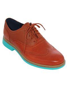Cole Haan Mens Great Jones Wingtip Shoe
