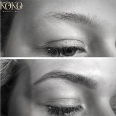 Beautiful high definition brows/HDbrows/beforeandafter/browsonpoint/beautiful brows/ brows at Koko