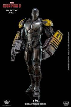 King Arts 1//9 DFS021 Diecast Iron Man MK VI Mark 6 Figure Collectible Model