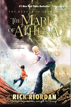 Mark of Athena, Indonesian cover. With a blurb on the front by  Team Leo?