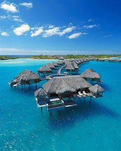 Bora Bora. For only 821.00 a night its allll yours :) haha