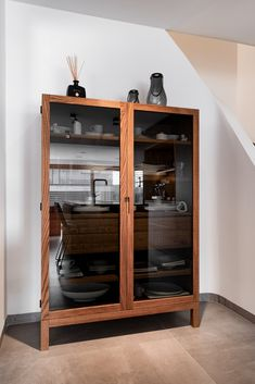 haus s - Möbelbau Breitenthaler, Tischlerei | @ elena egger China Cabinet, Modern, Storage, Design, Furniture, Home Decor, Carpentry, Natural Stones, Purse Storage