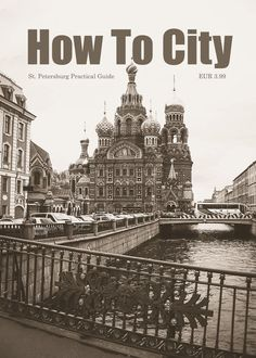 Ad for St. Petersburg Practical Guide by How To City. (Not the actual cover.)