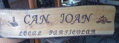 letrero para local particular