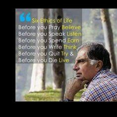 11 Best Words Of Wisdom Images Ratan Tata Quotes Quotations