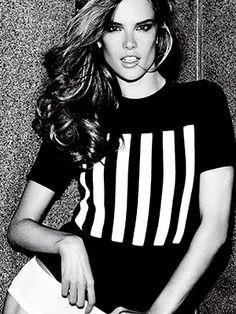 Victoria's Secret spokesmodel Alessandra Ambrosio tells us her fitness tricks