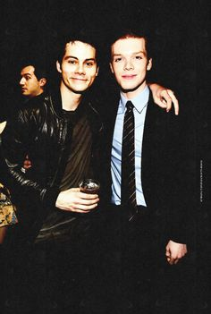 Dylan O'Brien & Cameron Monaghan