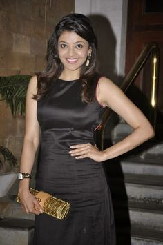 Kajal Agarwal Hot Black Dress | Kajal Agarwal Boobs – HDPhotoPoint