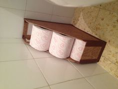 A good idea for storing toilet paper