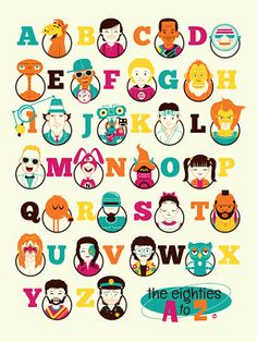 the eighties A to Z