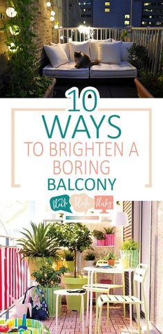 Brighten your boring outdoor decor with our favorite DIY balcony decor! Light Fixture Makeover, Brighten Room, Do It Yourself Home, Diy Room Decor, Home Decor, Diy Craft Projects, Backyard Projects, Home Crafts, Decor Crafts