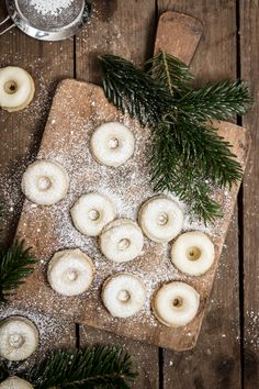 gingerbread donuts / lebkuchen donuts