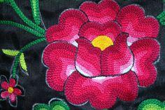 Envio GRATIS Huipil bordado de Oaxaca: blusa de tehuana hecha
