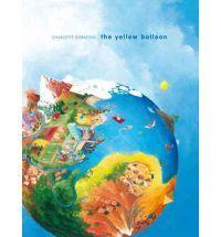 A+yellow+balloon+sails+around+the+world.