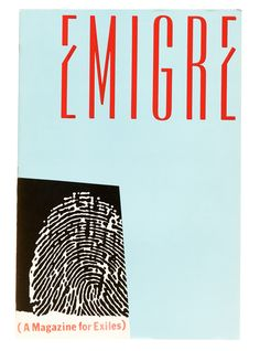 """In coordination with """"Inflection Point,"""" a new essay on Emigre, we're posting a digital version of the magazine's influential eleventh issue. Cool Poster Designs, Cool Posters, Emigre Magazine, Inflection Point, Magazine Editorial, Publication Design, Book Projects, Deconstruction, Design Reference"""