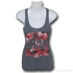 Images of Star Wars Floral Logo Women's Tank Top