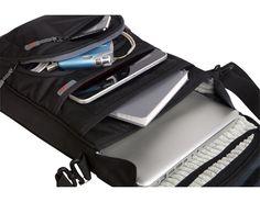 vertical medium laptop shoulder bag - 1