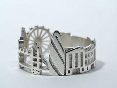Необычные кольца с архитектурными памятниками мировых столиц от Ola Shekhtman - Ярмарка Мастеров - ручная работа, handmade