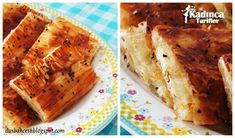 Baklava Yufkasından Börek Tarifi Banana Bread, Salsa, Desserts, Food, Tailgate Desserts, Deserts, Essen, Postres, Salsa Music