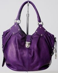 purple bag | may have to ditch my Louies and Coach bags. Thanks for introducing ...