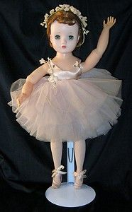 "Madame Alexander ""Elise"" Ballerina Doll - 1950's  I think this is the one I had, but I thought her wrists were jointed."