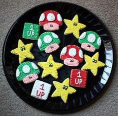 Nintendo Cookies - Video Game Party