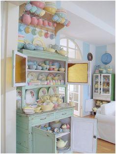 pastel, kitchen, interior, interior design, home decor, home, decoration, idea, inspiration