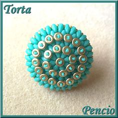 Schema of the Torta ring in french by Pencio on Etsy