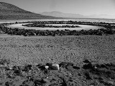 "Robert Smithson's ""Spiral Jetty,"" Great Salt Lake, Utah"