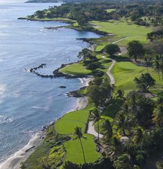 Casa de Campo in La Romana, Dominican Republic offers three Championship Golf courses and 63 holes all designed by Golf Hall of Fame member Pete Dye. From the imposing coral shores and winding fairways of the Caribbean's #1 golf course – Teeth of the Dog – to the craggy mountains of Dye Fore and the undulating hills and lagoons of The Links, Casa de Campo summons your inner champion.  #worldsbesthotels2014