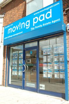 Moving Pad shop front