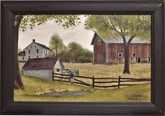 Framed Country Prints - Kruenpeeper Creek Country Gifts