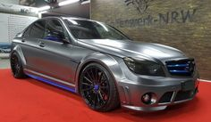 The styling package for Prior Design Mercedes AMG is inspired by the real Black Series which only came as a coupe and gives the sedan the same so. Mercedes Benz C63 Amg, Amg C63, C 63 Amg, Mercedez Benz, Mini Cooper S, Trucks, Vehicles, Design, Life