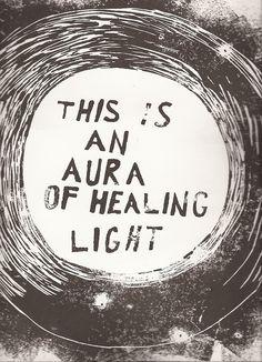 This is an aura of healing light.