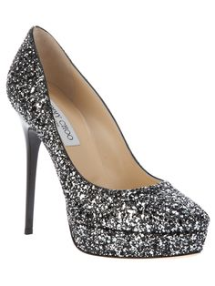 Jimmy Choo Cosmic Glitter Embellished Pumps