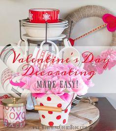 Valentine's Day Decorating Made Easy || Worthing Court #ad #HalmarkAtWalgreens #ad #NoOrdinaryCard