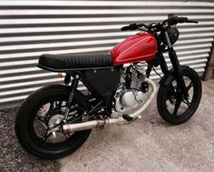 suzuki gn 125 cafe racer / street tracker / custom