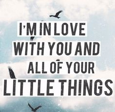 Little Things- One Direction