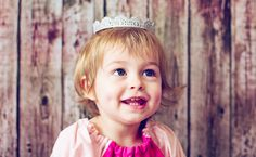 Here the cousins star as very smiley (and not very sleepy at all) Sleeping Beauties: | These Adorable Toddlers Re-Created Their Favourite Fairy Tale Characters