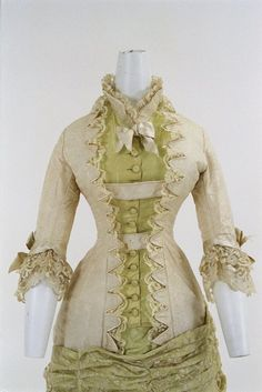 Dress ca. 1880 From the Bunka Gakuen Costume Museum