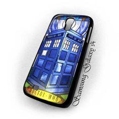 Tardis Doctor Who Glass Samsung Galaxy s4 i9500 case US $16.89