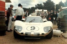 Chaparral 2D at the 24 Hours of LeMans 1966