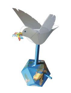 Peace Dove Papercraft