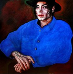 Portrait of Michael Jackson Oil Painting on Canvas Oil Painting On Canvas, Canvas Art, Photorealism, Realism Art, African American History, Michael Jackson, Original Paintings, Original Art, Famous People