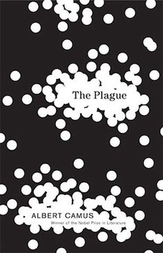 Book Cover// The Plague, by Albert Camus