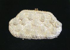 Vintage 1940's Beaded Purse Clutch Purse by PowerOfOneDesigns, $49.99